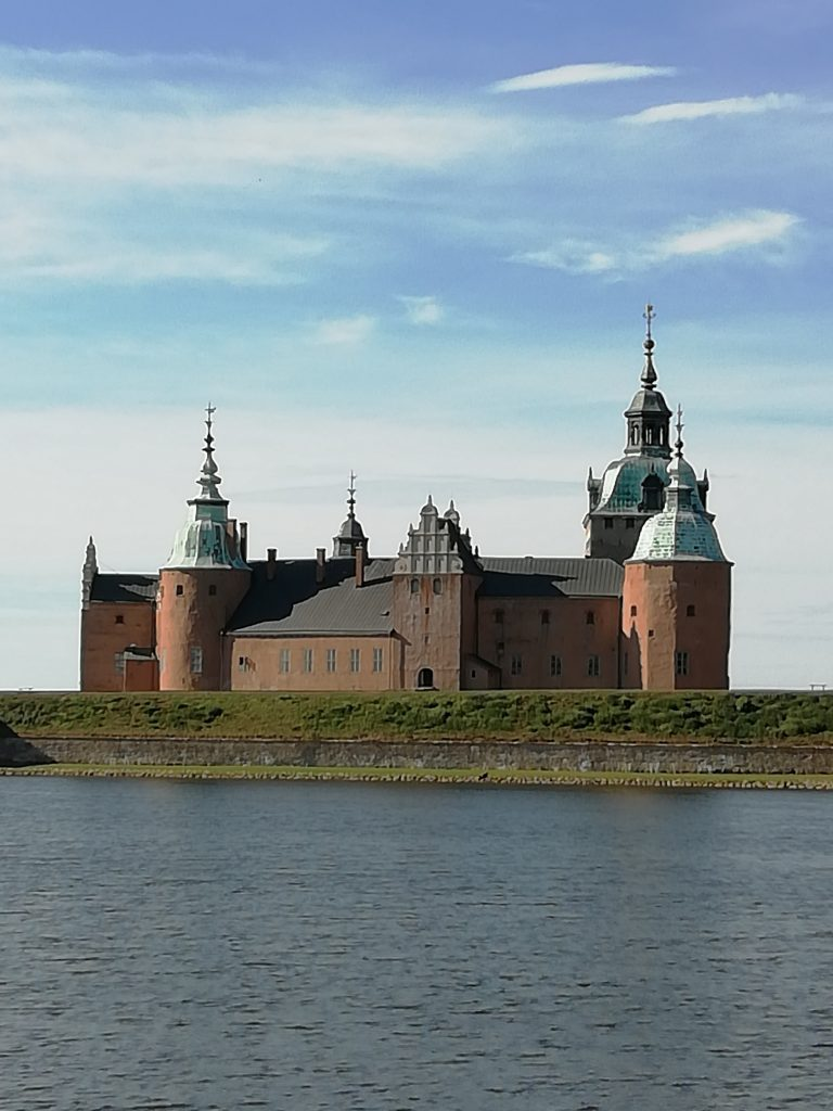Kalmar slott, un castillo renacentista en el mar Báltico