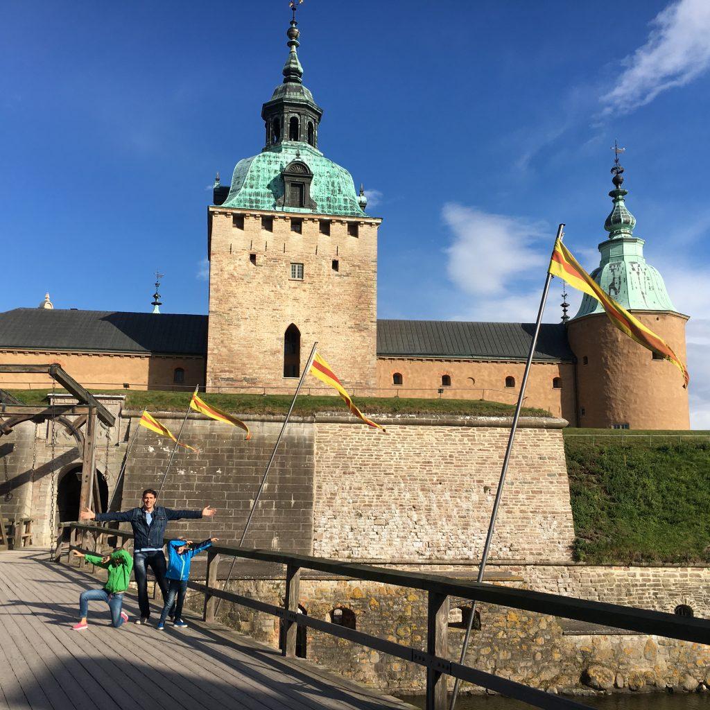 Que hacer en Kalmar slott con los niños en este castillo con una gran historia