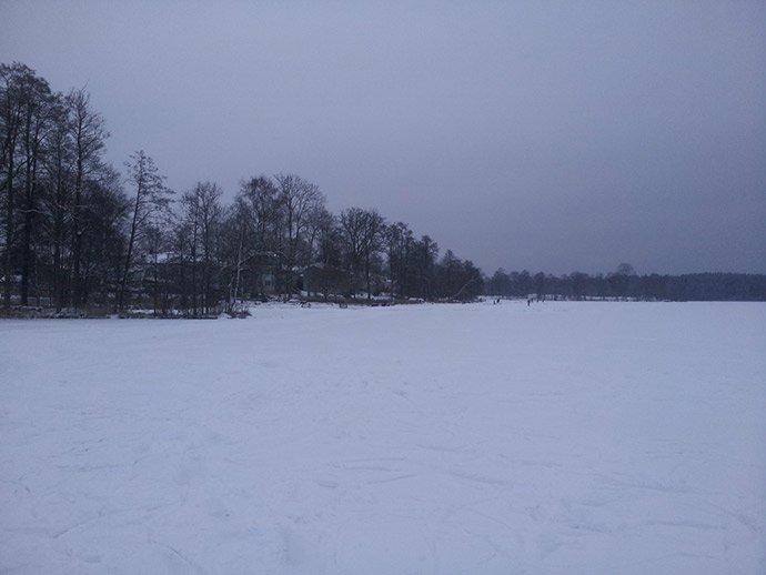 Svea-y-Pablo---Paseando-sobre-un-lago-helado---El-recorrido