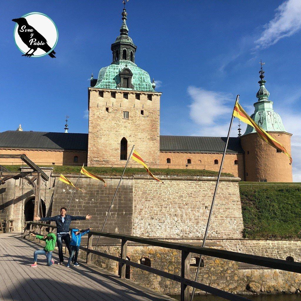 Svea y Pablo - Que hacer en Kalmar con los peques