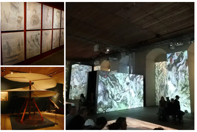 Kalmar slott - Exposiciones